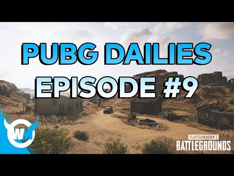PUBG Dailies Episode #9 1506 Rating Solo Gameplay Review - How to Get Better at Battlegrounds!