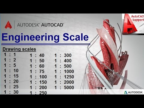 Scale-Engineering Scale Information in Autocad