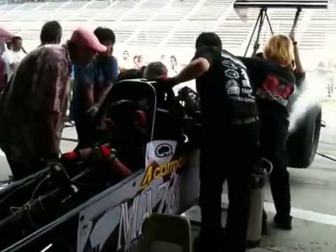 2013 IAF TopFuelDpagster BROADCASTER Racing Pits