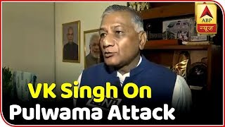 Pulwama Attack Appropriate Action Will Be Taken Former Army Chief VK Singh  ABP News