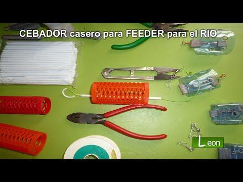 CEBADOR casero para FEEDER en el RIO con corriente