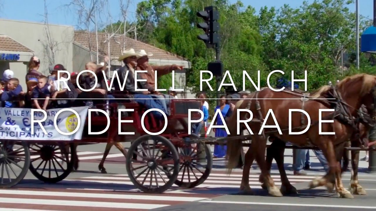 Castro Valley Rowell Ranch Rodeo Parade May 13th 2017