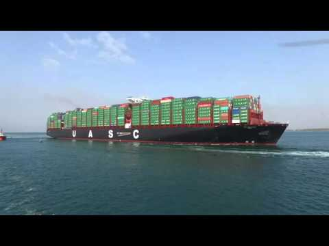 Al-Nefud Arraiving in RSGT, Red Sea Gateway Terminal / Jeddah Islamic port