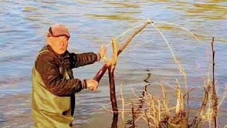 Рыбалка на паук От карасей нет отбоя В пустую не вытаскиваю Рыбалка 2020