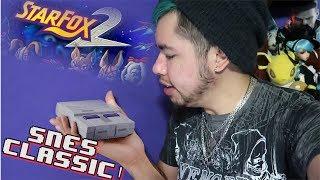 SUPER NINTENDO CLASSIC ANNOUNCED! STAR FOX 2 LIVES?!?
