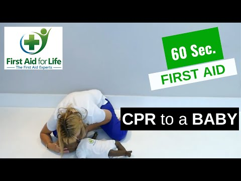 CPR for a Baby | 60 Second First Aid