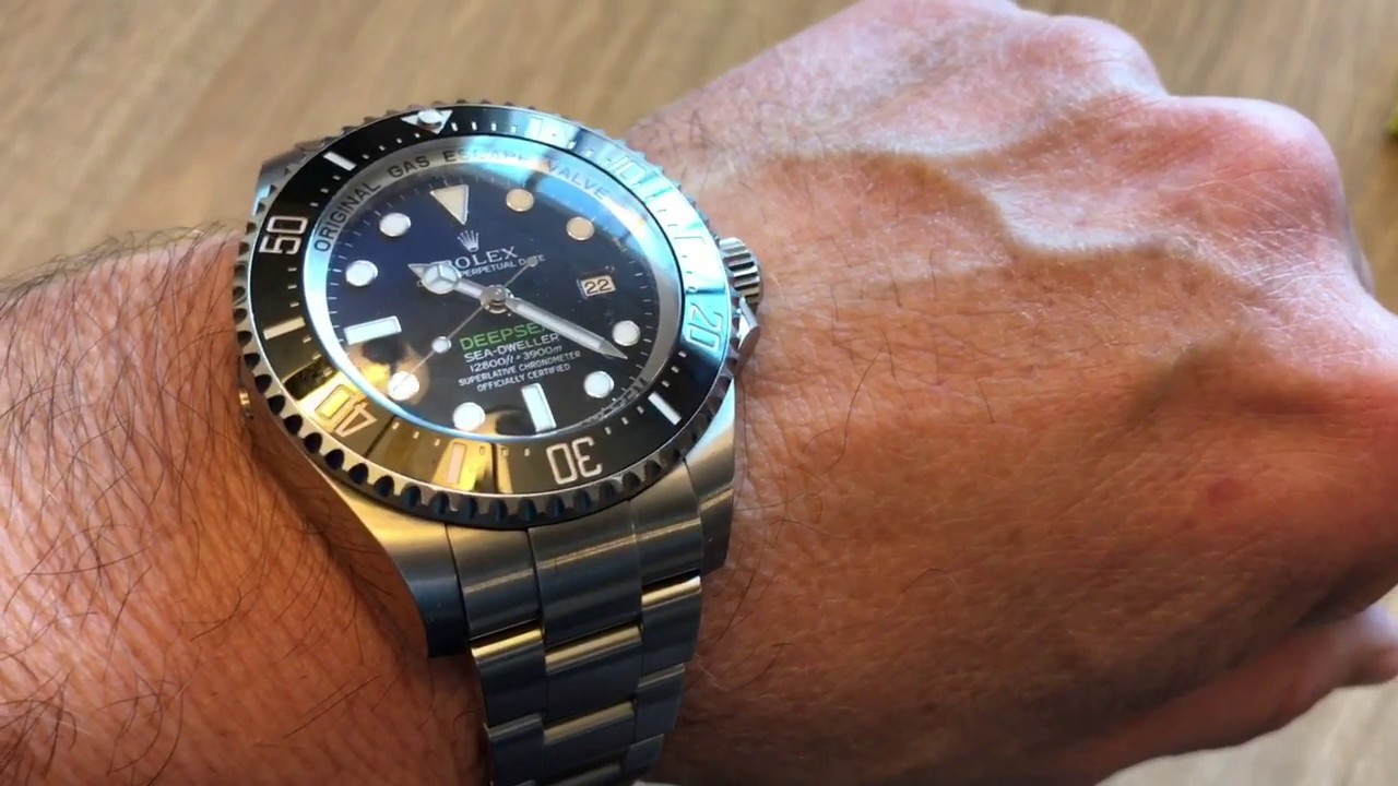 Rolex Deepsea James Cameron