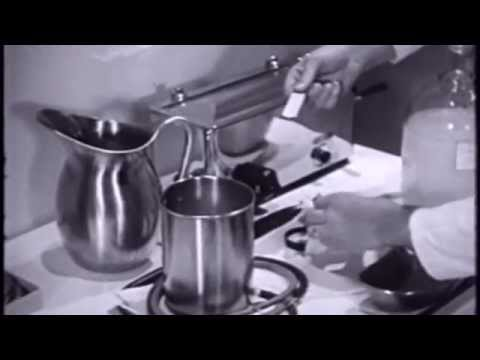 United States Navy Training Film (Giving An Enema) 1944