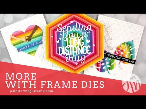 10 More Frame Die Cut Techniques