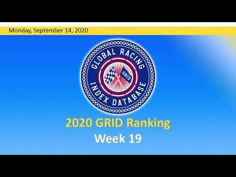 GRID Ranking Week 19