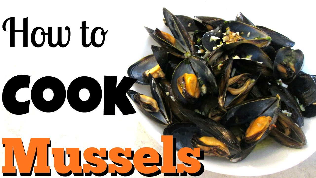 Mussels  In A Lemon Garlic Butter Broth  Poormansgourmet