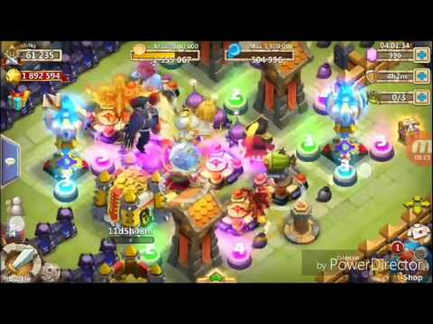 Castle Clash Time To Evolve Pumpkin Duke(my First Evolve)