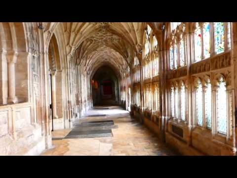 The Cloisters. Gloucester Cathedral.