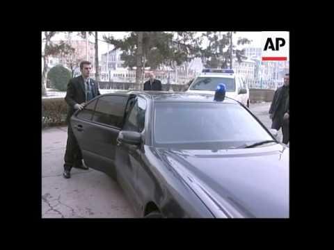 WRAP Top UN official and Kosovo PM visit Rugova family, condolences, reax