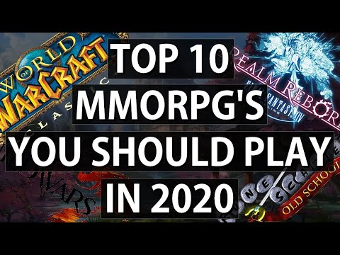 Top 10 MMORPG'S YOU SHOULD PLAY In 2020!