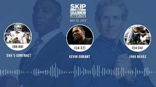 Dak's contract, Kevin Durant, 1985 Bears (5.29.20) | UNDISPUTED Audio Podcast
