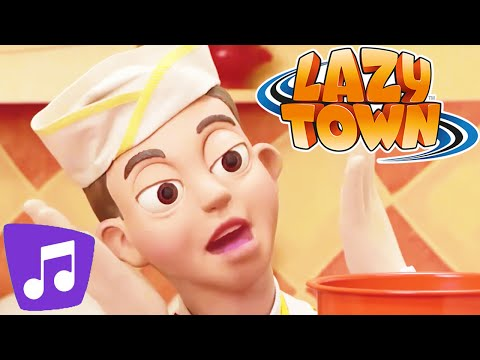 Lazy Town I Cooking By the Book Music Video