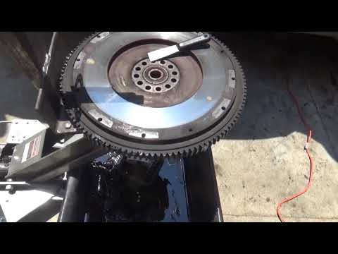 Replace clutch on big truck. (part 3) lower trans, clutch, flywheel, pilot brg.