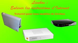 [PC] Livebox - Enlever la restriction d'Internet sans reset la box