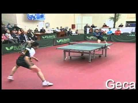 Joao Monteiro vs Hou Yingchao[ECL 2011/2012]