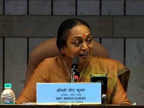 Inaugural Speech of Honorable Speaker Smt. Meira Kumar at the Appreciation Cource
