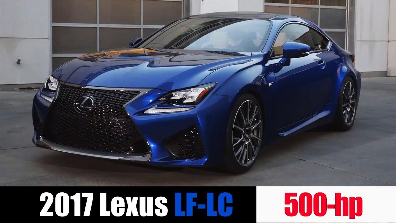 2017 Lexus LC 500 - YouTube