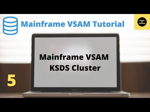 Mainframe VSAM - How to Create KSDS  - 5