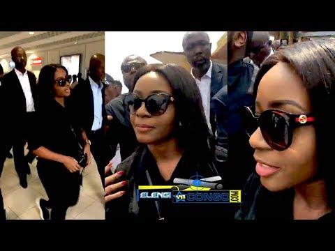 ▶️Aéroport Tombé Arrivée De RUTH MISAMU à Kinshasa Ba Kinois Ba LELI Marie Misamu