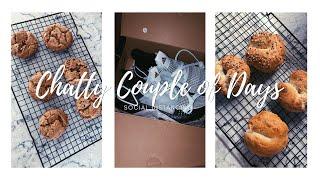 Vlog Chatty couple of days, tiktok recipe &amp easy carbonara!