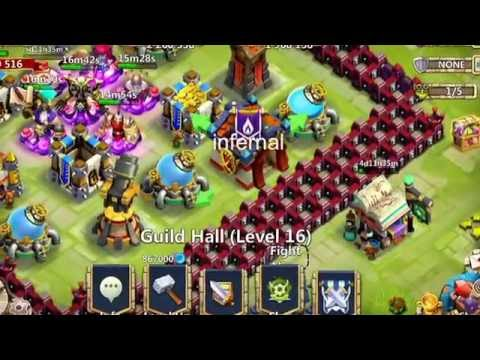 Castle Clash How To Join A Guild For Noobs