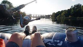 Fishing & Floating the Colorado River (Tubing from Pleasant Valley Dam Austin, TX)