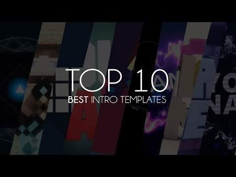 TOP 10 Intro Template #1 Sony Vegas Pro + Free Download