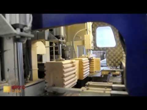 Готовые домокомплекты (сруб дома) из сухого профилированного бруса от производителя