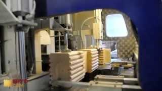 видео Строительство дома из сухого профилированного бруса