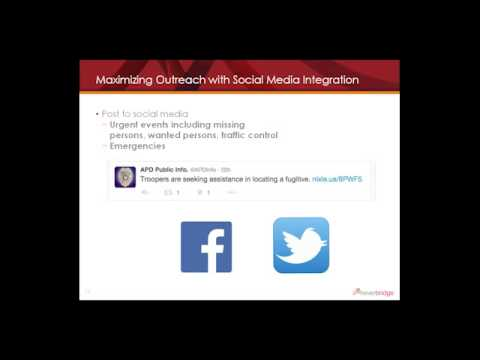 how anchorage uses nixle for social media optimization