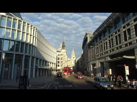 Central London from a #11 bus: Chelsea-Downing Street-Bank of England 2015-08-23
