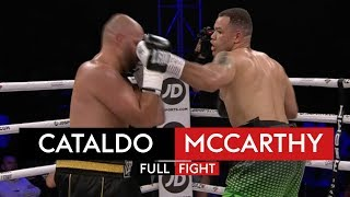 FULL FIGHT! Francesco Cataldo vs Tommy McCarthy