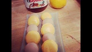 Macarons mit Gelinggarantie - Tipps und Macaron Rezept für Orangen-Macarons und Nutella-Macarons