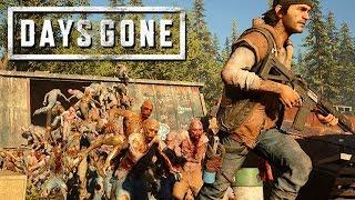 Days Gone Gameplay German 60   Sawmill Horde 500 Zombies Besiegt