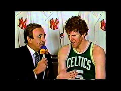 Bill Walton (Boston Celtics) Interview (2-25-86)