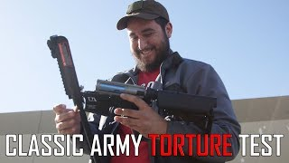 Classic Army Skirmish Line Torture Test! - Airsoft GI