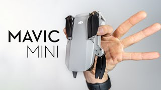 DJI Mavic MINI World's Tiniest Drone! Hands On Review