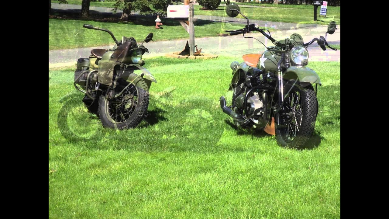 WWII Military Theme XS650 Engine with 270 Rephased Engine & 750 Big Bore Kit