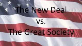 The New Deal vs. The Great Society