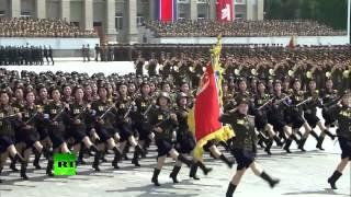 В КНДР прошел парад в честь 60-летия окончания Корейской войны