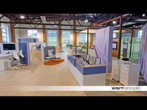 WINI Büromöbel: Showroom WINI Forum Sandsteinhalle in Marienau