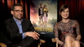 Steve Carell and Keira Knightley Interview on Being Inspired by Their Real-Life Loves
