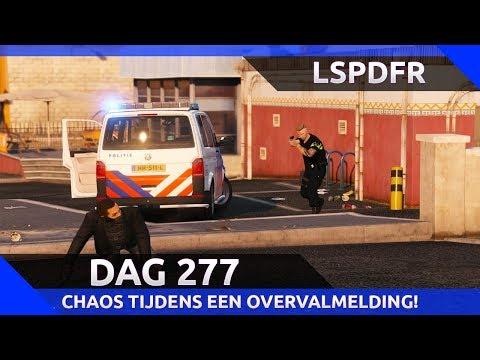 GTA 5 lspdfr dag 277 - Nieuwe T6 en dikke chaos tijdens achtervolging van 5 overvallers!