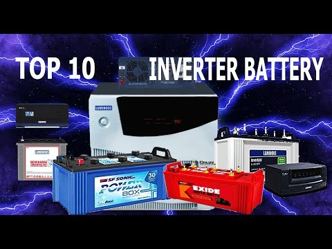 Top 10 Inverter Battery In India 2017 -  Best UPS Brands
