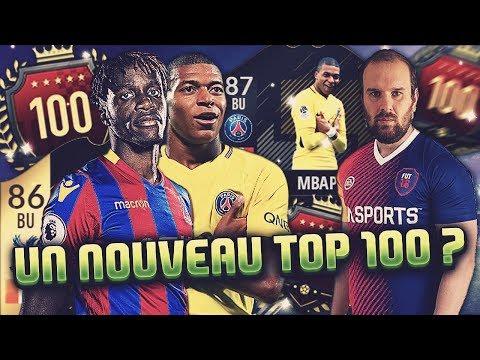 FIFA 18 - NOUVEAU TOP 100 ? ON TESTE ZAHA 86 ET MBAPPE 87 !!!